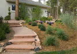 Colorado Springs Patio Homes by Stone Landscaping Colorado Springs Stone Pathway Design