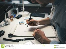 designer at work in office stock photo image 66591237