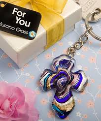 keychain favors murano collection cross key chain favors 1 kitchen