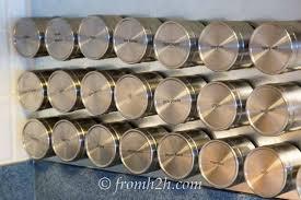 Spice Rack Plano Diy Magnetic Spice Rack Hometalk