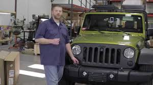 jeep wrangler garage in the garage with performance corner vision x fog light