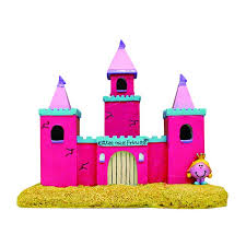 miss princess castle aquarium ornament is sure to keep your