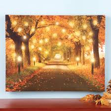 https www collectionsetc product lighted autumn forest pathway