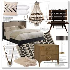 polyvore home decor featured item tribal headboard footboard