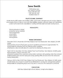 Food Service Job Description Resume by Professional Dunkin Donuts Shift Leader Templates To Showcase Your