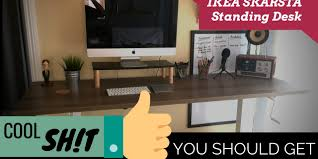 Stand Up Desk Ikea by Ikea Skarsta Standing Desk Review Trav Derose