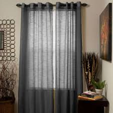 black sheer curtains with lights sheer curtain ideas dining room