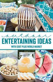 Summer Entertaining Ideas - outdoor entertaining ideas a night owl blog
