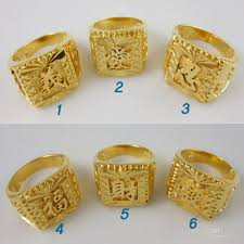 gold ring images for men new design gold plated cool rings for men vogue righteousness
