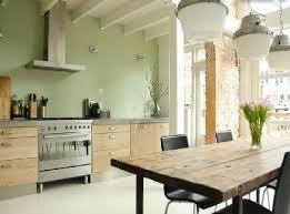 peindre la cuisine peinture vert d eau une couleur déco pour salon et cuisine