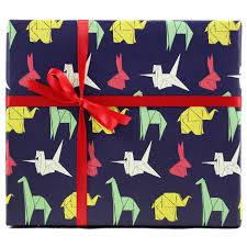 wrap wrapping paper origami gift wrap wrapping paper smudge ink smudgeink