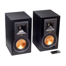 wireless speaker home theater r 15pm powered monitor speakers bluetooth u0026 vinyl ready klipsch