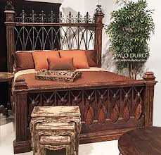 Western Bed Frames Western Rustic Beds Western Bedroom Furniture