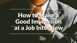 How How To Make A Good Impression At A Job Interview Aiesec Canada