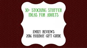 Stocking Stuffers Ideas 30 Stocking Stuffer Ideas For Adults Emily Reviews