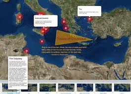 travels of odysseus national geographic society