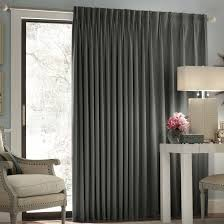 Patio Door Curtain Rod by Patio Doors Patio Door Blackout Curtains In Long Inches Sage Wide