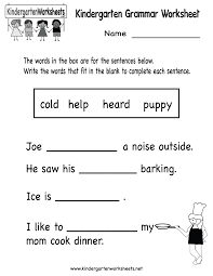 printable grammar worksheets worksheets