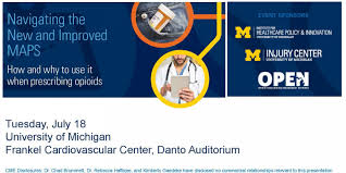 University Of Michigan Map by Michigan Open Sponsors U201cnavigating The New And Improved Maps