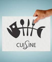 enseigne de cuisine sticker enseigne cuisine poisson couvert stickers cuisine ghostick