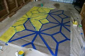 Yellow Outdoor Rug How To Paint An Outdoor Area Rug Checking In With Chelsea
