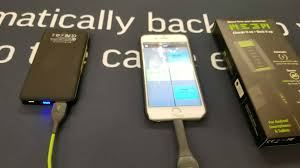 charge your phone meem can charge your phone and keep your photos safe tech geek