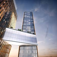 home plans with a courtyard and swimming pool in the center luxury apartment rentals in manhattan american copper buildings