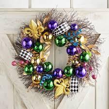 mardi gras throws clearance mardi gras ribbons balls wreath pier 1 imports