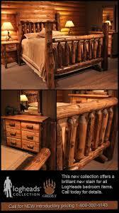Cedar Log Bedroom Furniture by Best 20 Rustic Bedroom Furniture Ideas On Pinterest Rustic