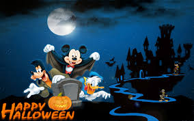 happy halloween animation mickey mouse hd wallpaper