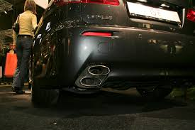 lexus isf aftermarket exhaust what are some design choices that makes you unreasonably angry cars