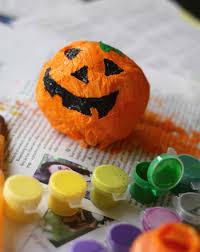 Paper Mache Pumpkin Make A Paper Mache Jack O U0027 Lantern Activity Education Com