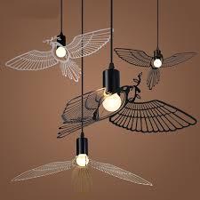 Bird Pendant Light Nordic Modern Minimalist Dining Room Pendant Lights American