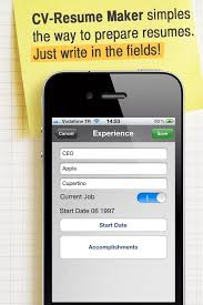 How To Fill Out A Job Resume by How To Make Resume Cv With Your Iphone Or Ipad On The Go Snapguide