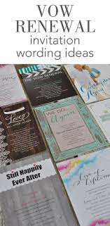 invitation wording vow renewal invitation wording invitations by