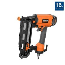 Coil Nails Home Depot by Ridgid 16 Gauge 2 1 2 In Straight Nailer R250sfe The Home Depot