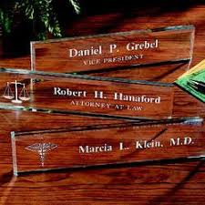 engraved office gifts 34 best name plates images on name plates desk name