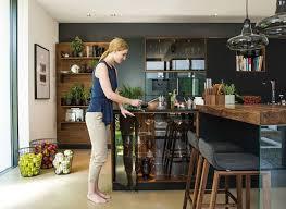Design Line Kitchens by Black Line Kitchen Cool Elegance Meets Natural Beauty Team 7