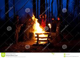 scary halloween images free scary halloween photo men in black clothes burn the witch at t