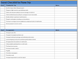 Packing List Template Excel Vacation Packing List Template Template Packing