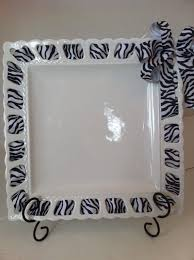 personalized ceramic platters help cremaic ribbon plates platters cake plates