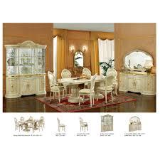 7 360 00 leonardo dining set ivory table china side and arm