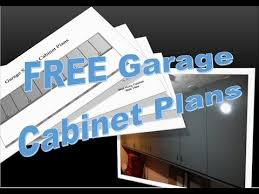 free garage cabinet plans free garage cabinet plans youtube
