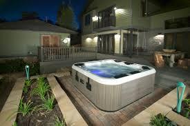 backyard tub home outdoor decoration