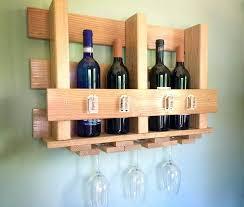 wine rack glass and wine rack wine glass holder wood diy glass