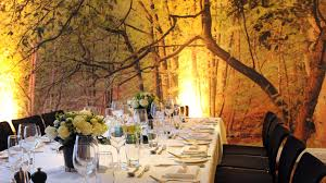 the forest room dining hire the hospital club