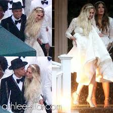 ashlee simpson and evan ross wedding 2014 august 31 diana ross son