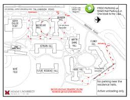 Map Of Oxford Ohio by First Year Move In Residence Life Student Life Miami University