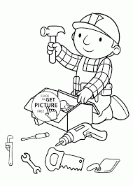 hand tools coloring pages tags tools coloring page prek coloring