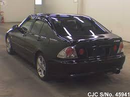 altezza car black 1999 toyota altezza black for sale stock no 45941 japanese
